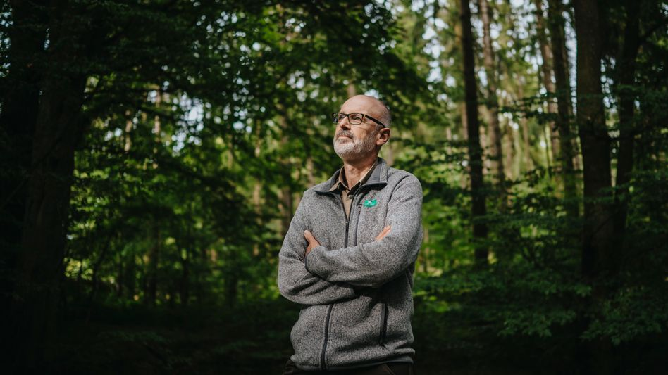 Bestsellerautor Wohlleben: »Wir haben irres Glück, dass wir auf einem Berg sitzen. Um uns herum war ein Riesenrauschen, wie im Hochgebirge«