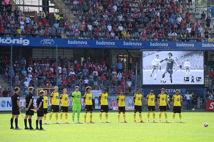 Für Gerd Müller eine Gedenkminute
