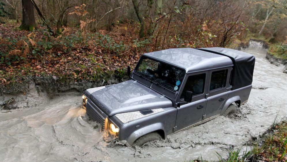 Land-Rover-Testgelände: Offroad-Marter Eastnor Castle