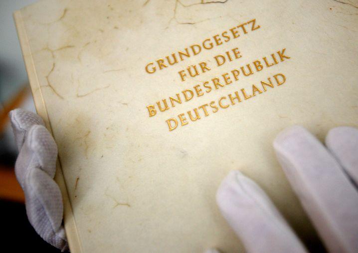 Museumsreif: Grundgesetz im Haus der Geschichte, Bonn