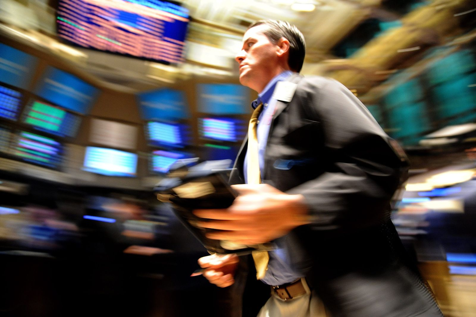 Börse in New York nach den Wahlen