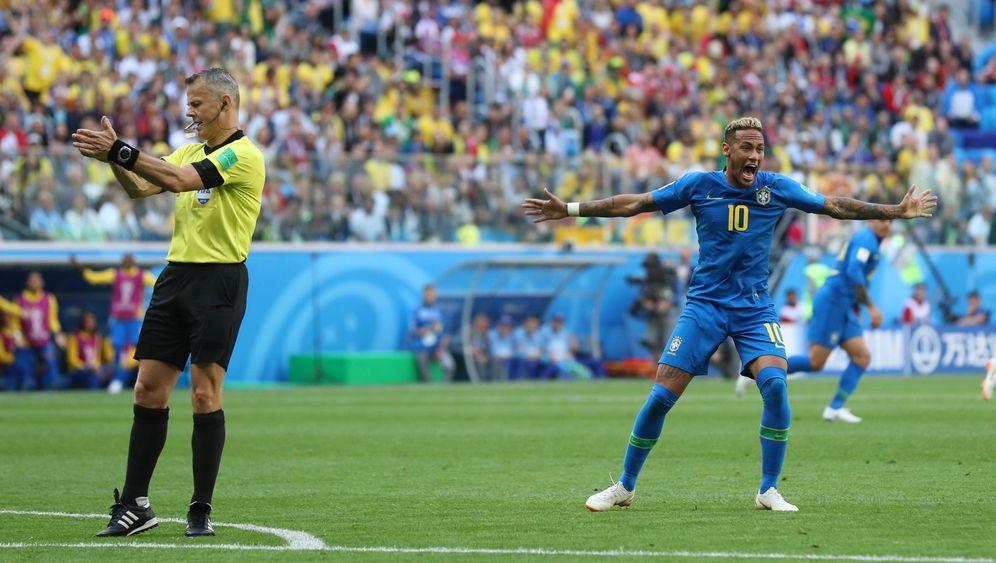 Schiedsricherleistung: Neymar gegen Kuipers