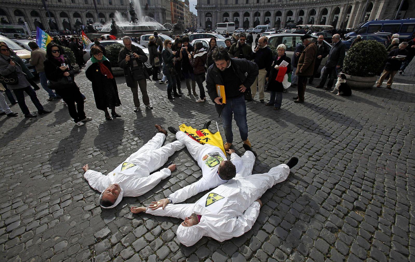 Anti-Atom-Proteste / Rom