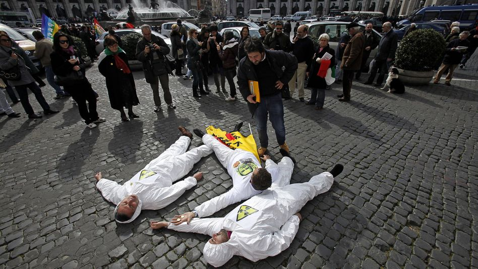 "Anti-Atom-Proteste in Rom: ""Zona denuclearizzata""?"