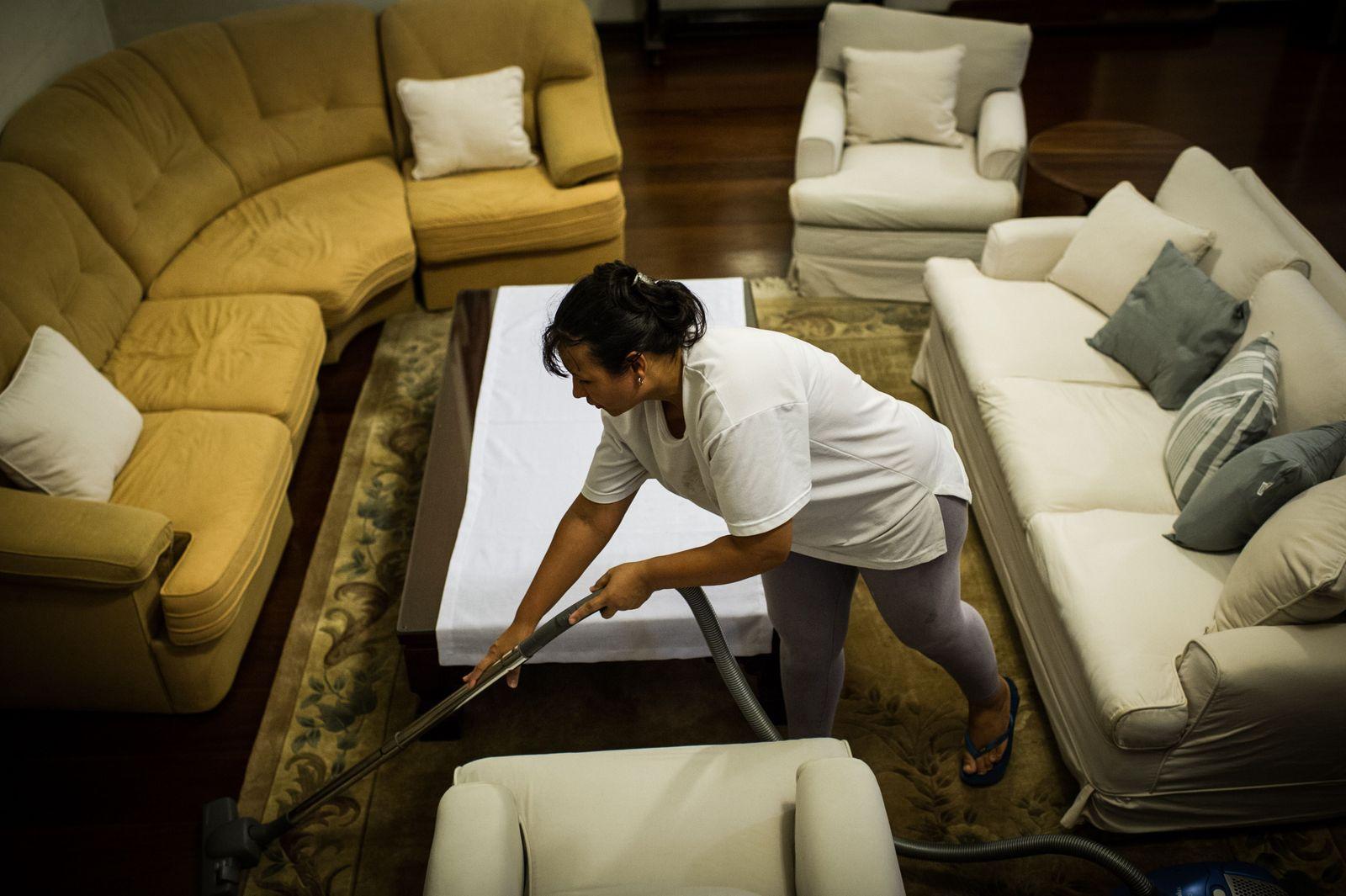 BRAZIL-SOCIAL-ECONOMY-JOBS-HOUSEKEEPING