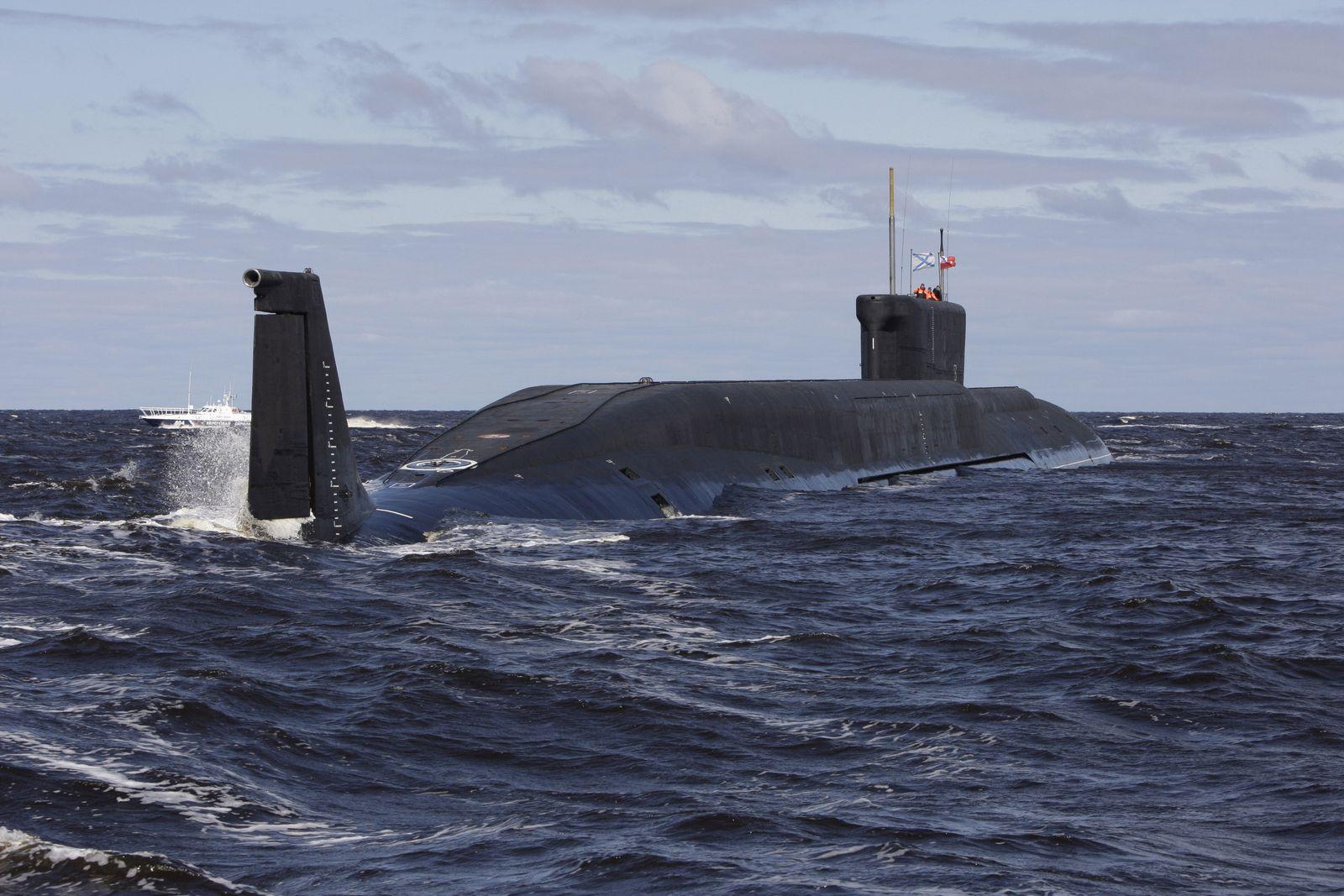 Russland/ Atom-U-Boot