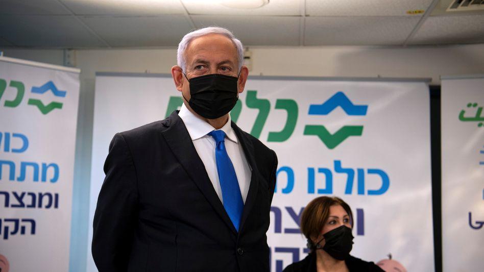 Will wiedergewählt werden: Benjamin Netanyahu