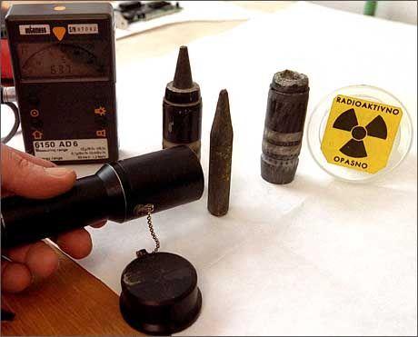 Uran-Munition, von der Nato im Kosovo-Krieg eingesetzt: Strahlende Gefahr