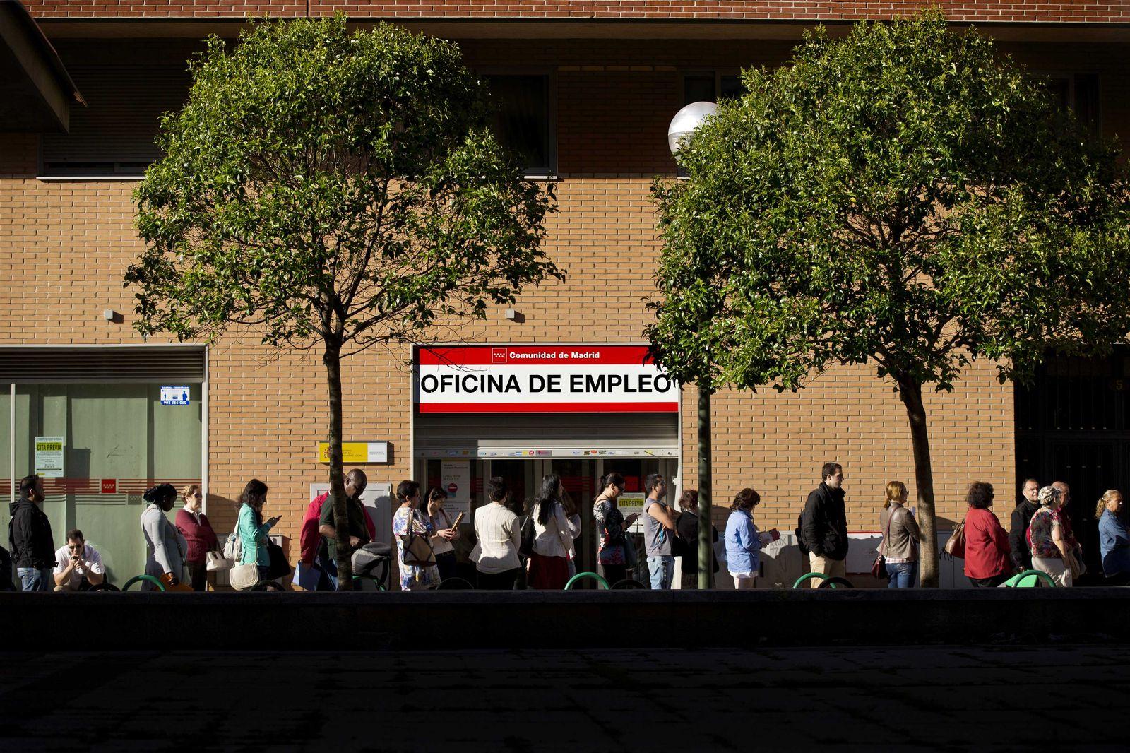 Spanien/ Arbeitslos
