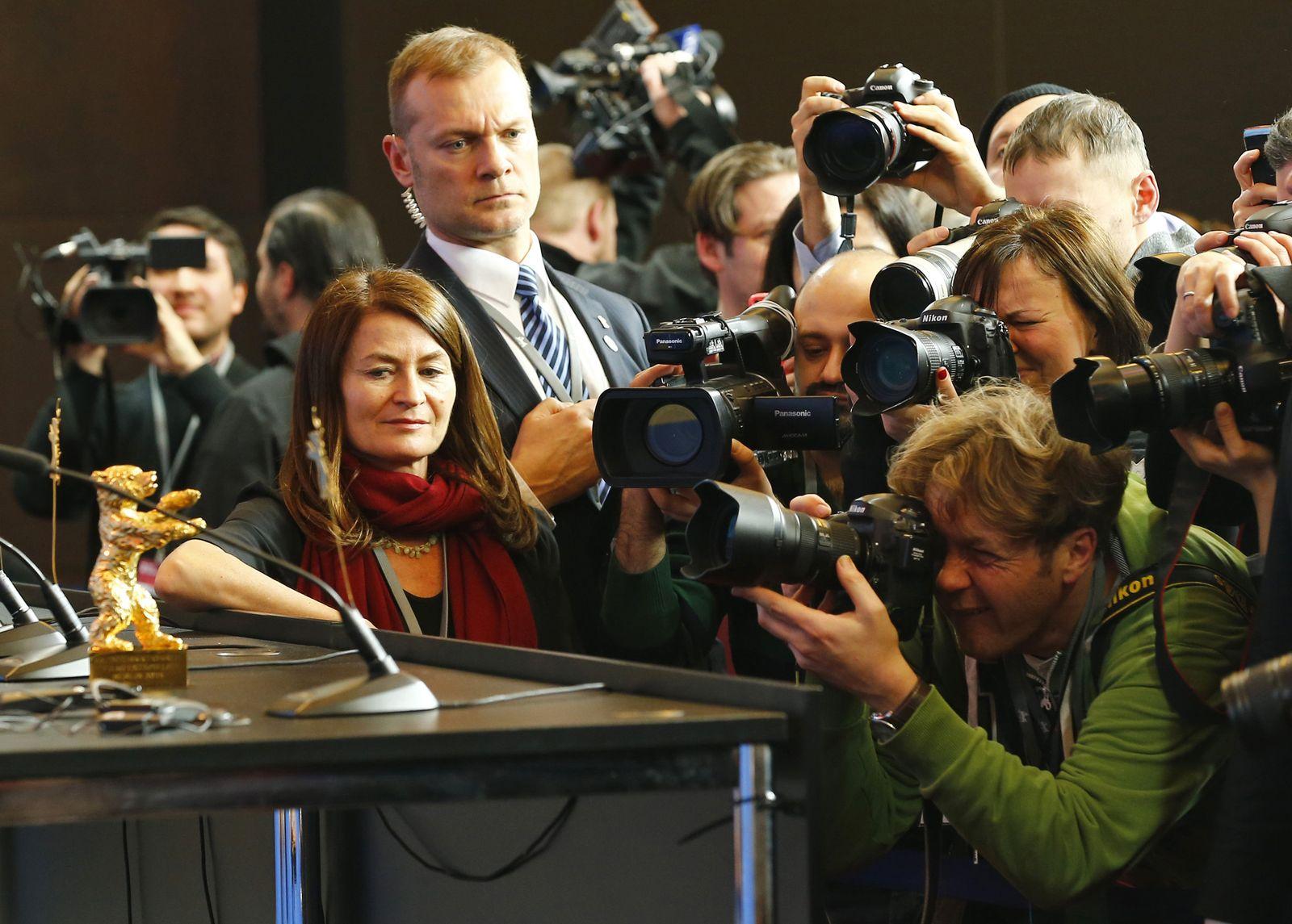 Germany Berlin Film Festival 2015 Award Ceremony Press Conference