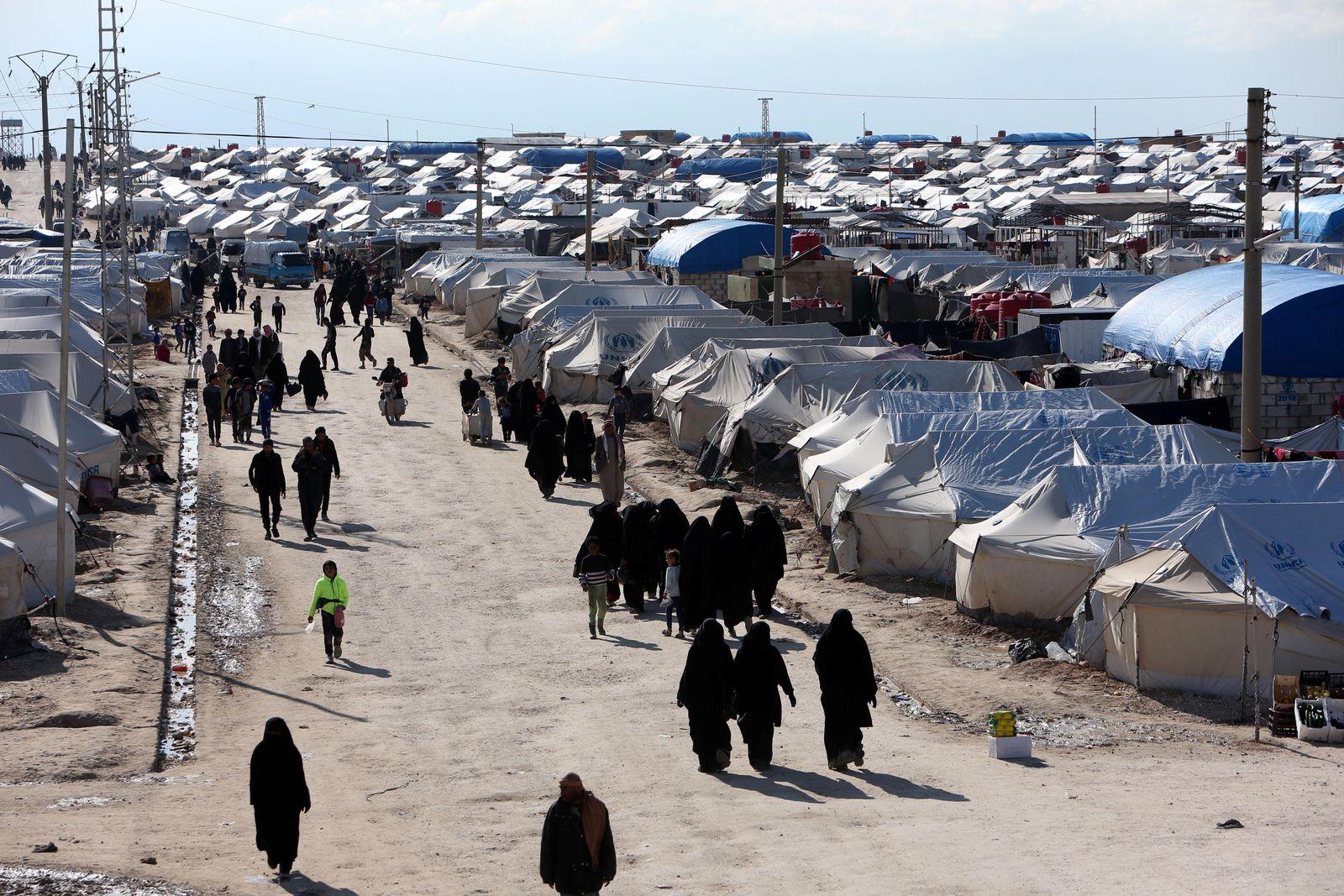 al-Hol IS Camp