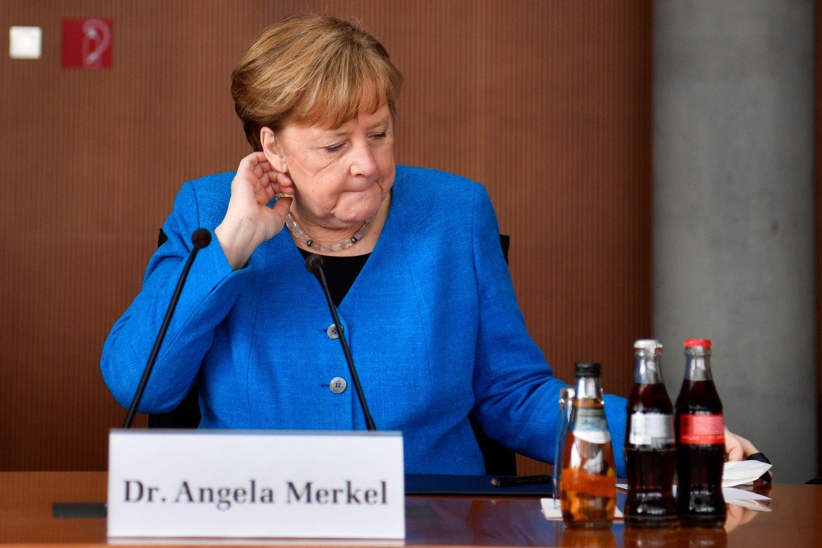 German Chancellor Merkel to testify on Wirecard
