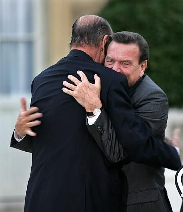 Schröder developed a close relationship with French President Jacques Chirac. Too close, some would say.