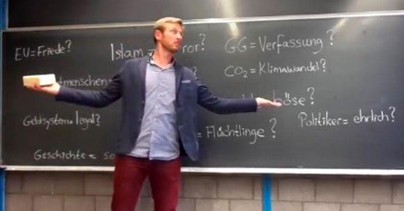 EINMALIGE VERWENDUNG Berliner Grundschullehrer Nikolai N.