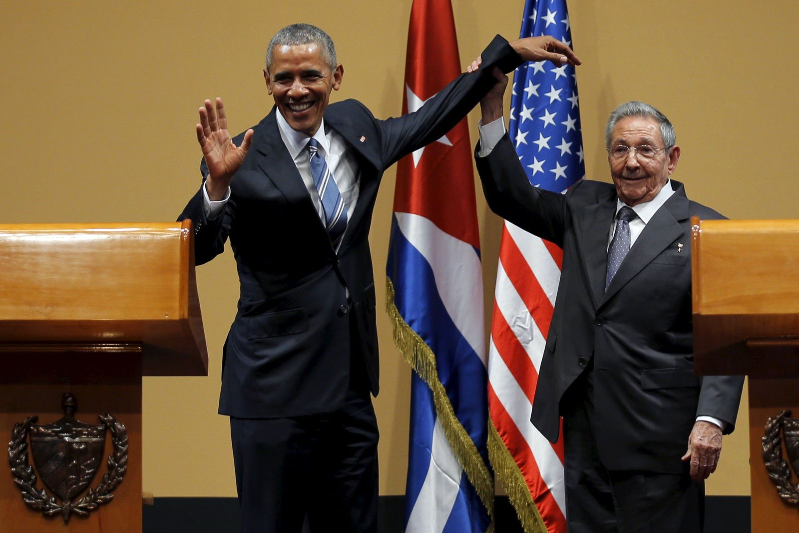 Ära Castro/ Raul / Obama/ 2016