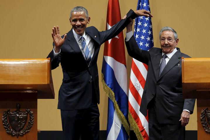 Barack Obama und Raúl Castro: Die Zeit der Entspannungspolitik ist unter Trump vorbei