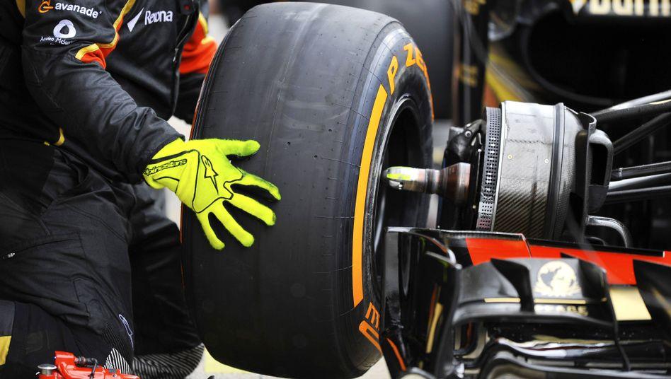 Reifenwechsel in der Formel 1: Neues Material in Kanada nur im Training