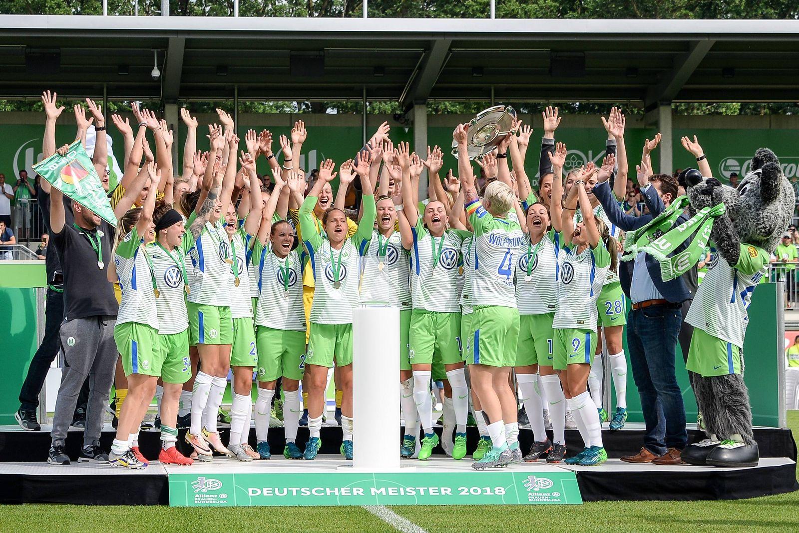 EINMALIGE VERWENDUNG VFL Wolfsburg Frauen/ Fußball
