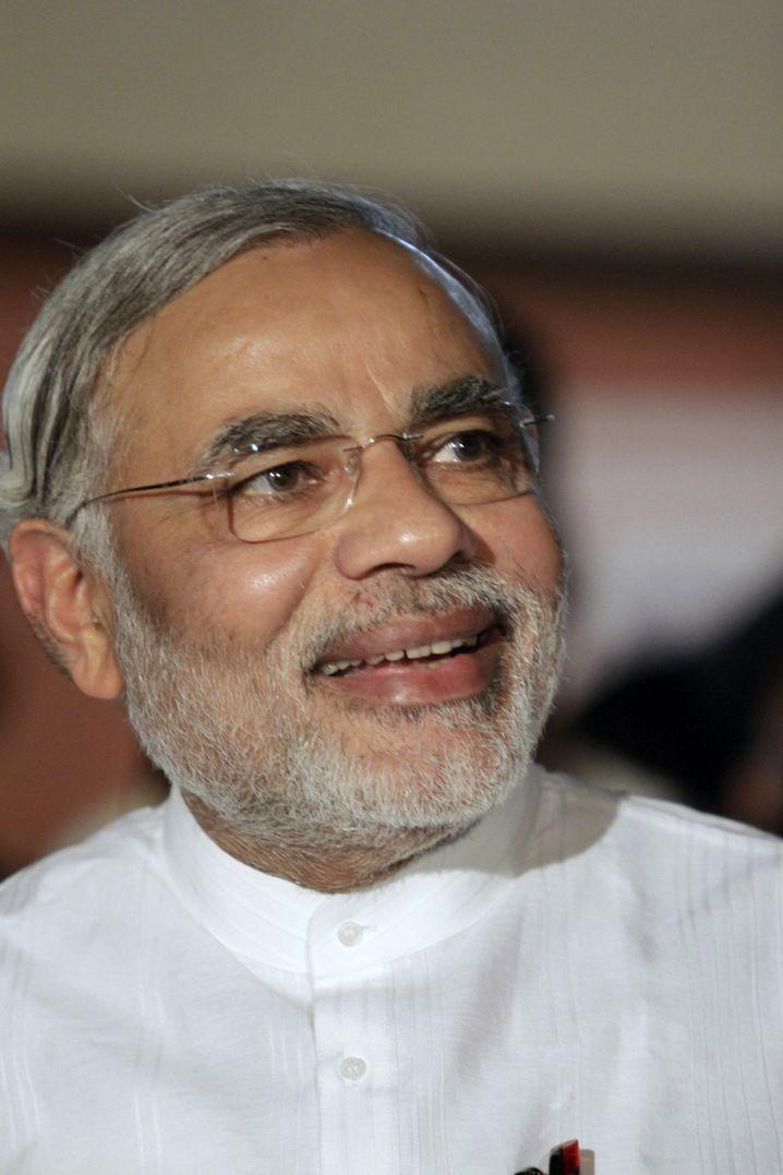 Gujarat-Gouverneur Narendra Modi: Höchste politische Ämter - oder Gefängnis?