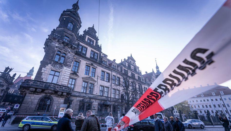 Spektakulärer Einbruch am 25. November 2019 in Dresden