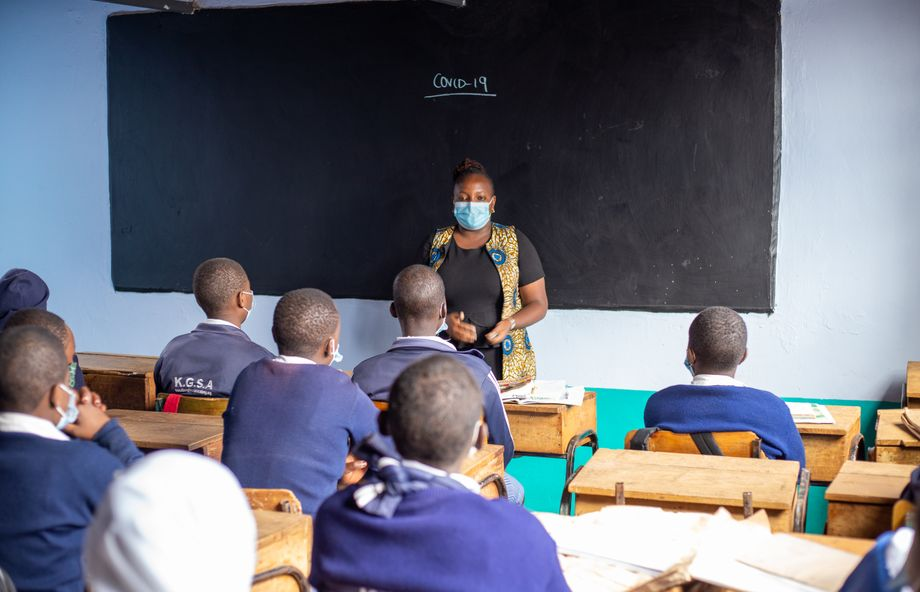 Kibera Girls Soccer Academy: Fast alle Mädchen sind zurückgekommen