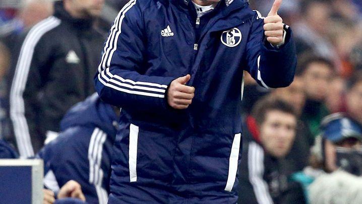 Trainer Keller auf Schalke: Auf und ab, immer wieder