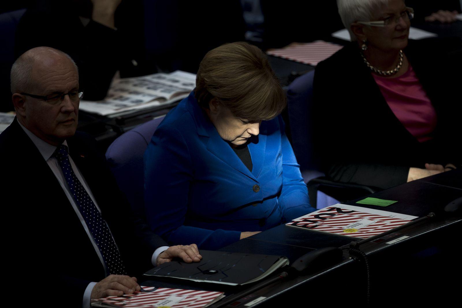 Merkel / Bundestag
