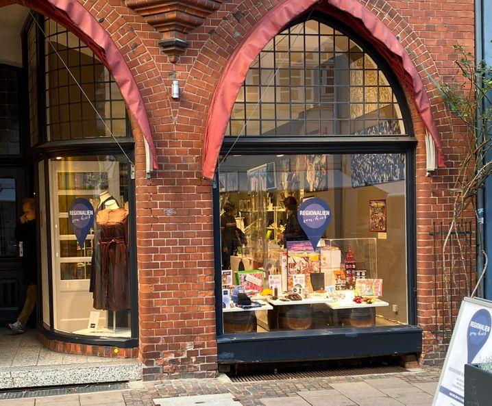 Der Pop-up-Store »Regionalien von hier« in Lüneburg