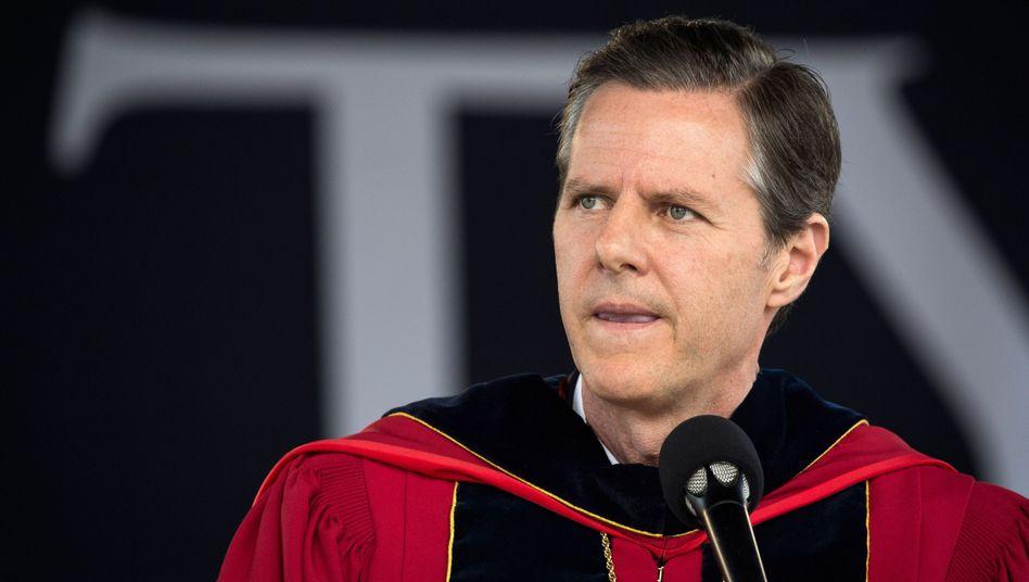 Jerry Falwell Jr., Präsident der Liberty University in Virginia