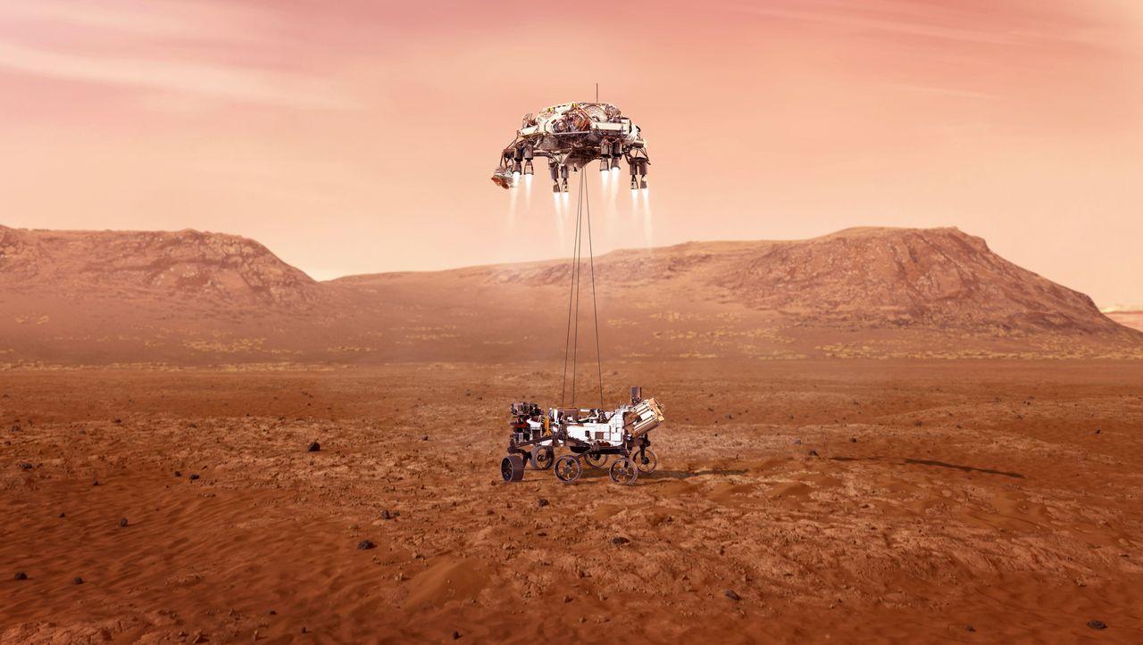 Nasa-Rover »Perseverance«: Mars-Landung live auf YouTube - DER SPIEGEL