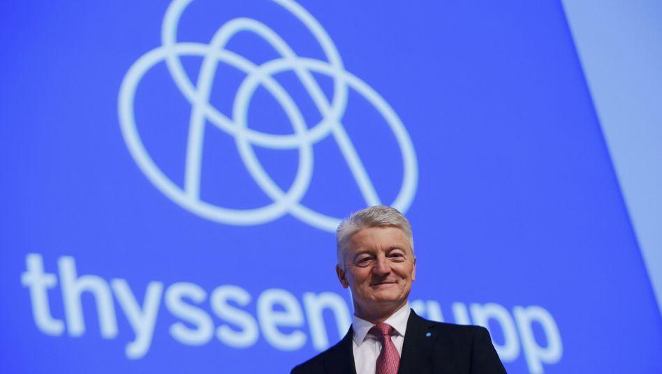 """ThyssenKrupp-Chef Hiesinger: Man halte sich an den eigenen """"Code of Conduct"""""""