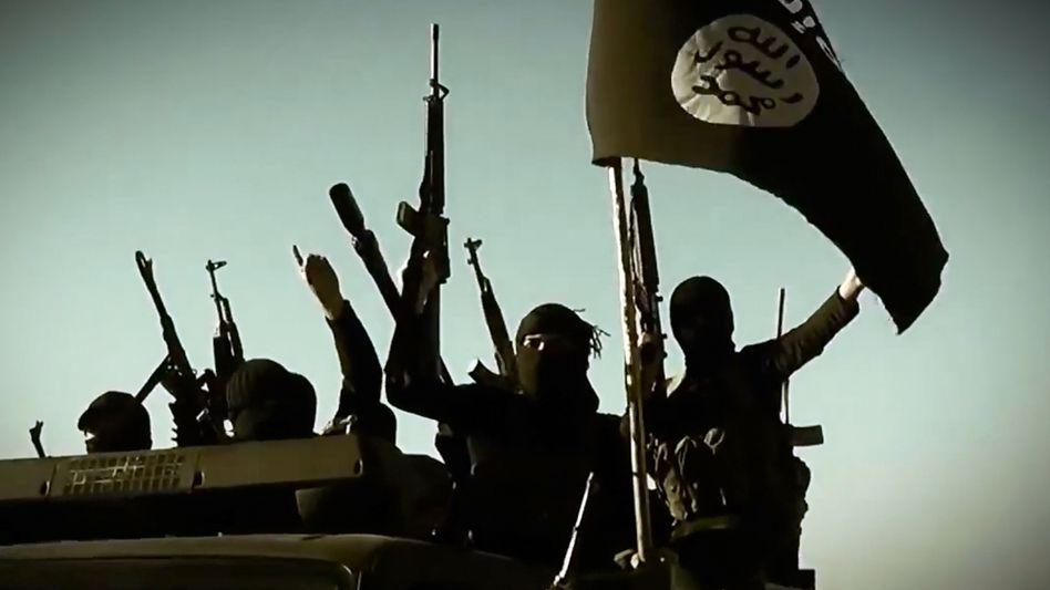 An image grab from an Islamic State propaganda video.