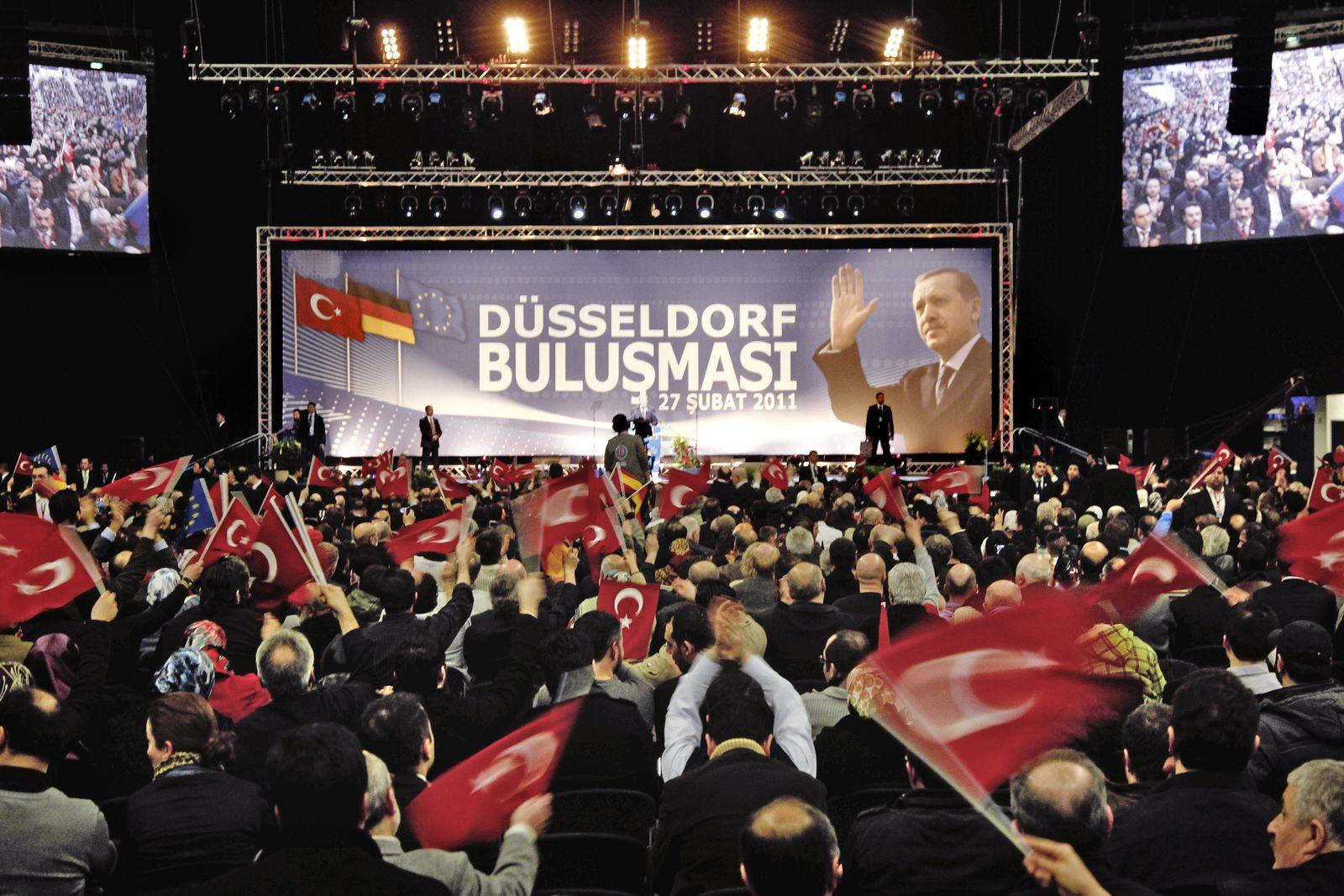 NICHT VERWENDEN Erdogan in Deutschland