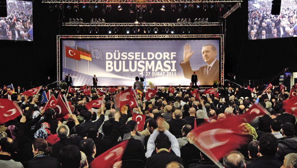 Erdogan's speech in Düsseldorf was a campaign event.