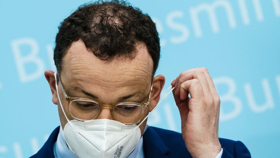 Hoffentlich mit Qualitätsmaske: Bundesgesundheitsminister Jens Spahn (CDU)