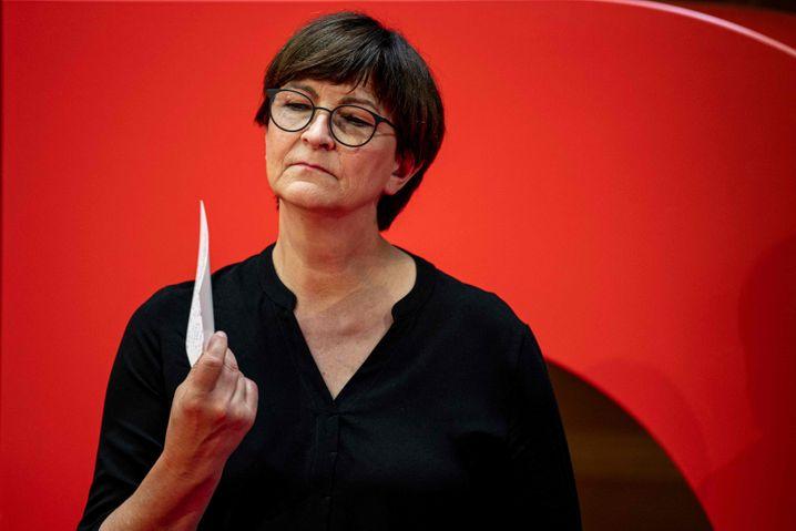 SPD-Vorsitzende Esken