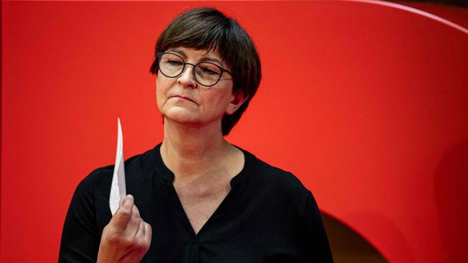 SPD-Parteichefin Esken: »Reisende genau anschauen«