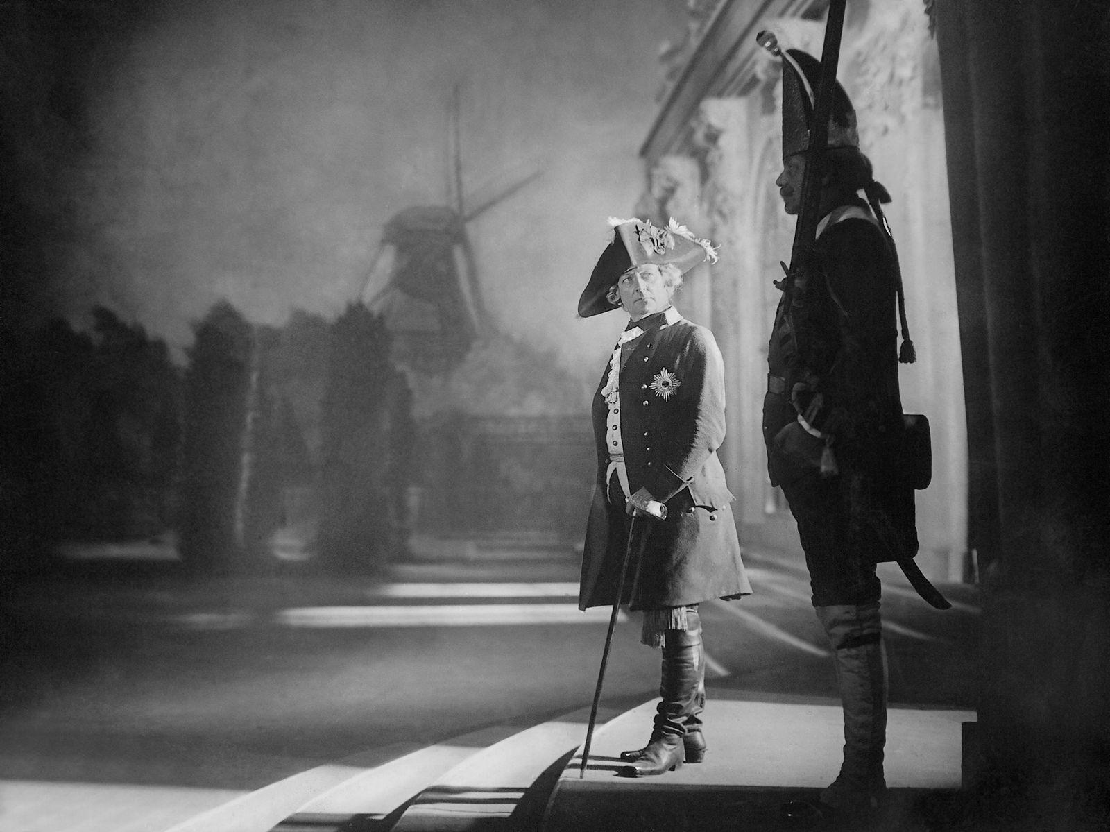 Otto Gebühr in 'Das Flötenkonzert von Sanssouci', 1930