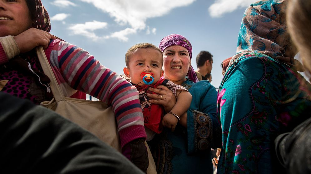 Photo Gallery: Escaping from the Islamic State