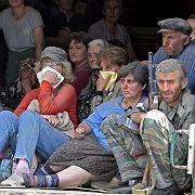 """Flüchtlinge in Tskhinvali, der Hauptstadt Südossetiens: """"Aufbau eines Marionetten-Kabinetts"""""""