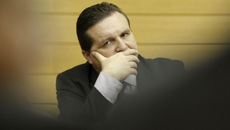 Ministerpräsident Mappus: Schwierige Lage knapp zwei Wochen vor der Landtagswahl