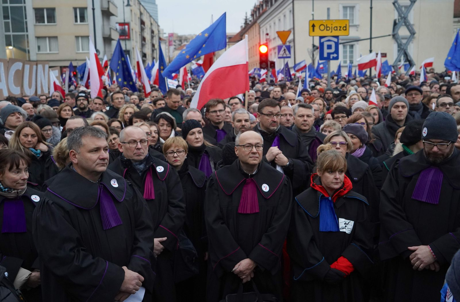 POLAND-JUSTICE-EU-POLITICS-PROTEST