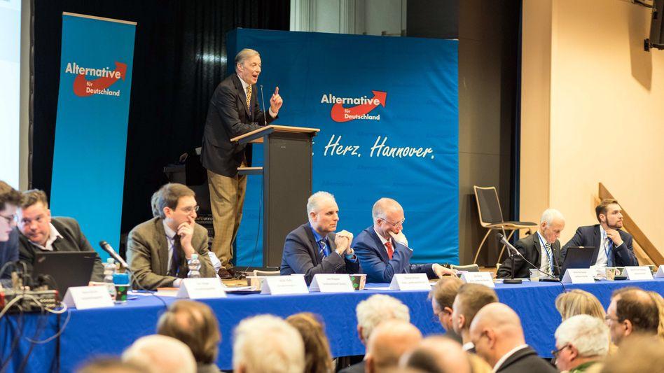 Niedersachsens AfD-Landeschef Hampel spricht im Februar auf dem Landesparteitag