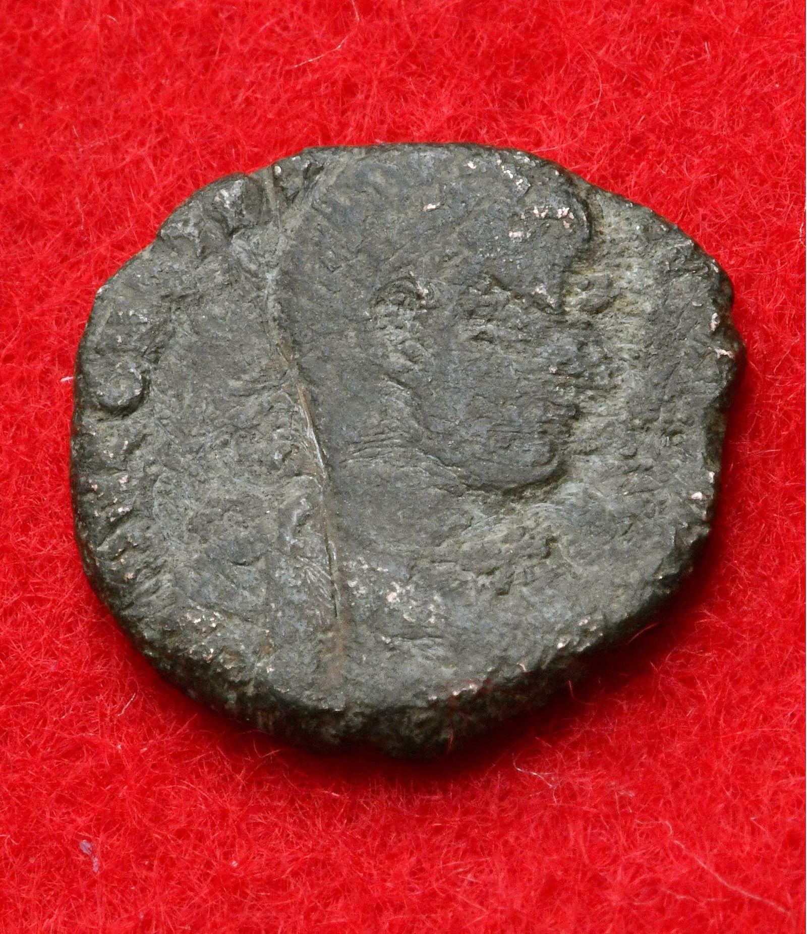EINMALIGE VERWENDUNG Römische Münze