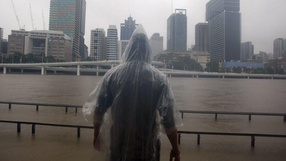 Überschwemmungenin Australien: Tausendefliehen ausBrisbane