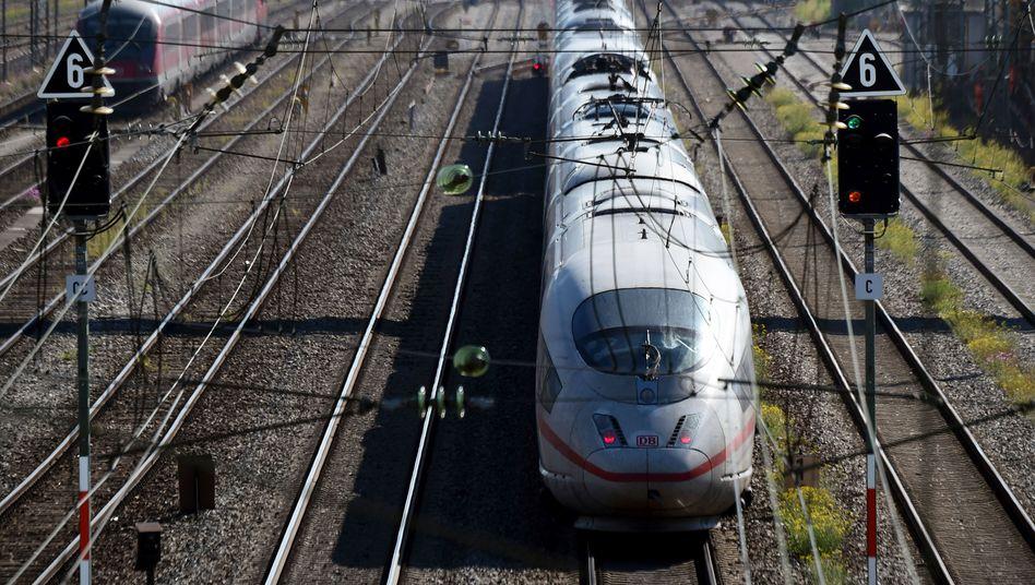 ICE im Münchner Hauptbahnhof: Geringe Auslastung