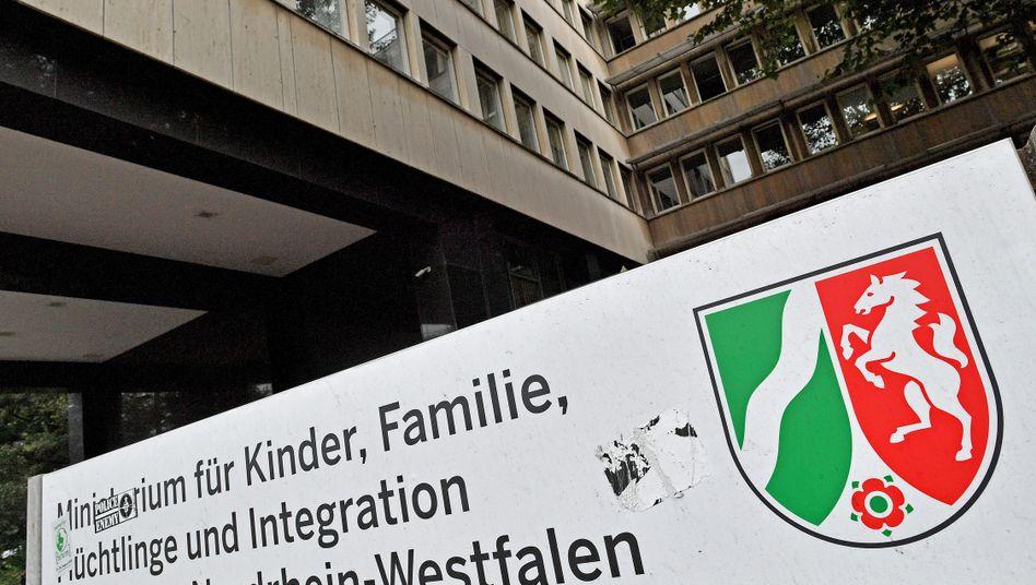 Flüchtlingsministerium in Düsseldorf