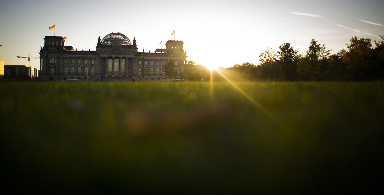 NICHT VERWENDEN Richstag Bundestag