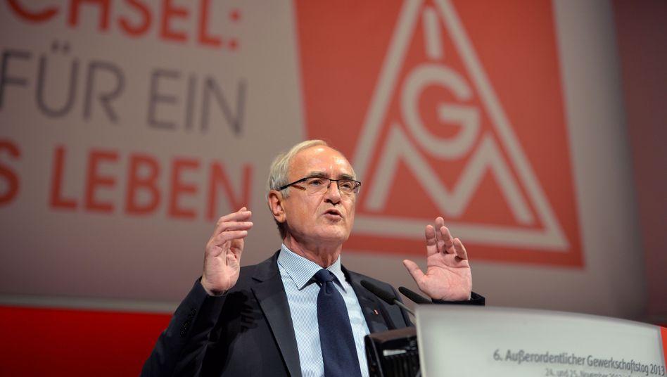 """Neuer Gewerkschaftsboss Wetzel: Ständige Erreichbarkeit ist """"unzumutbar"""""""
