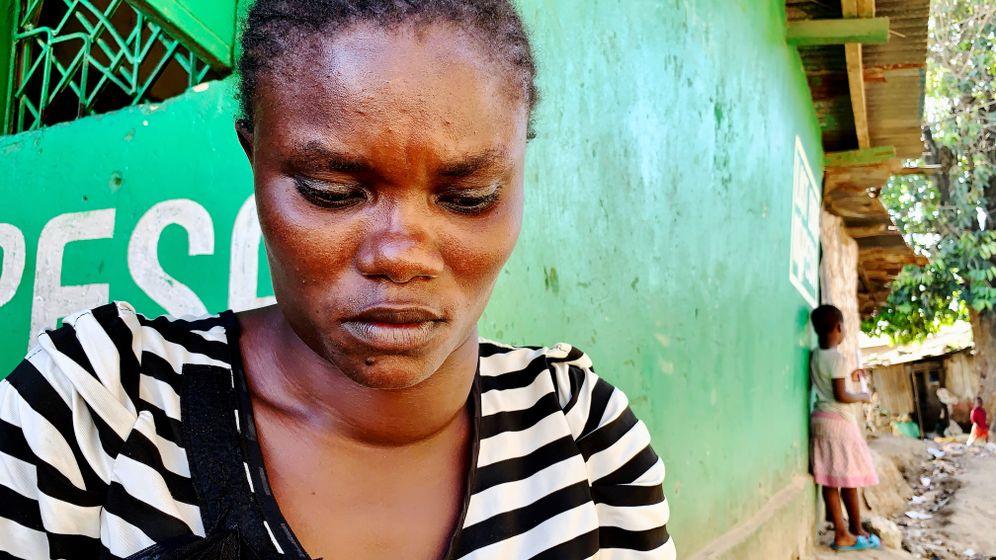 Die 26-jährige Irine Akinyi hofft, dass sie ihre Bleivergiftung überleben wird